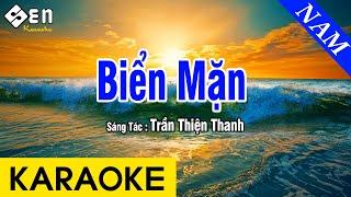 Karaoke Biển Mặn Tone Nam Nhạc Sống - Beat Chuẩn