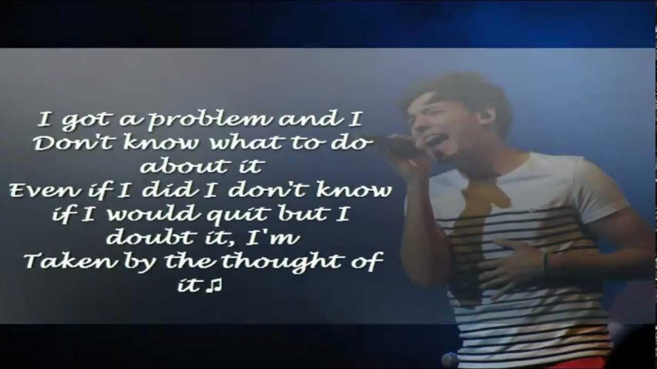 Louis Tomlinson-Because of You / Ne-Yo Cover / Lyrics ...