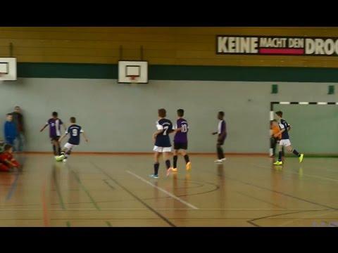 Eintracht Norderstedt - SC Vorwärts-Wacker-04 Billstedt (U13 D-Jugend, Hamburger Hallenmeisterschaft 2015) - Spielszenen | ELBKICK.TV