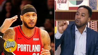 You better believe Carmelo Anthony wants revenge on the Rockets - Amin Elhassan | The Jump