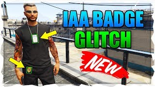 *NEW UPDATE * HOW TO GET IAA BADGE/NECKLACE IN GTA 5 ONLINE AFTER ARENA 1.46! GTA Best Glitches 1.46