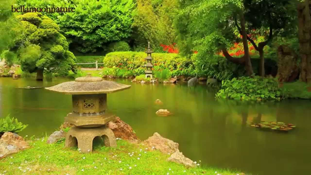 Japanese Tea Garden Golden Gate Park San Francisco Youtube