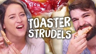 Ultimate Toaster Strudel Taste Test!! (Cheat Day)