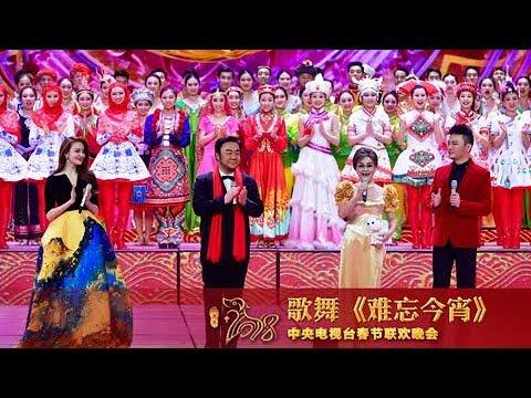 [2018央视春晚]歌舞《难忘今宵》 表演:李谷一 霍勇 刘雨欣 汤非 | CCTV春晚