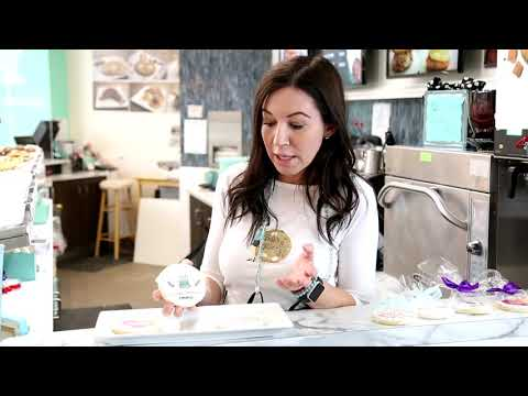 Print Logo Cookies with Primera Eddie™ - Edible Ink Printer. Watch Baking Betty's Video at Mall of America