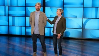 Ellen Introduces Her Stunt Double