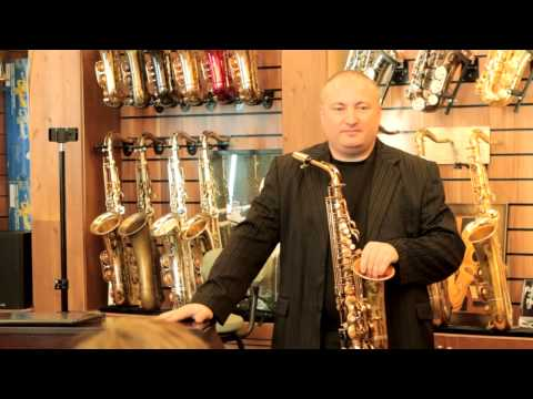 Салон саксофонов Bird: мастеркласс Роберта Анчиполовского.