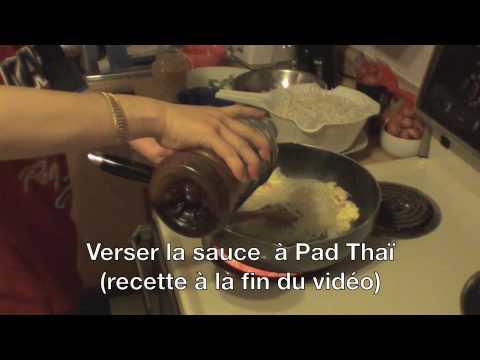 recette de pad thai  (pad thai recipe)