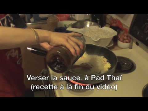 video cuisiner thaï