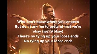 Rachel Platten - Loose Ends (Lyrics Video)