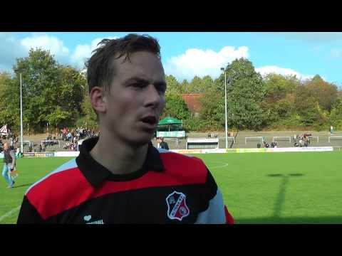 Benjamin Lipke (Altona 93) und Adam Hamdan (TuS Dassendorf) - Die Stimmen zum Spiel (Altona 93 - TuS Dassendorf, Oberliga Hamburg) | ELBKICK.TV