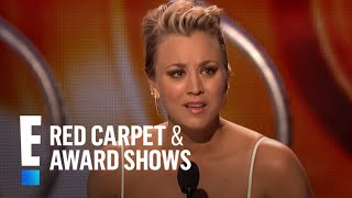 Favorite Comedic TV Actress is Kaley Cuoco-Sweeting | E! People's Choice Awards