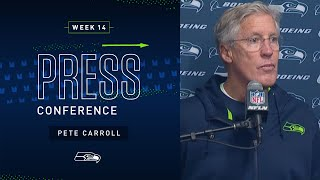 Pete Carroll Postgame Press Conference at Rams | 2019 Seattle Seahawks