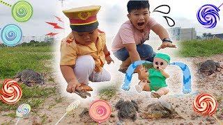 Trò Chơi Bé Doli Phiêu Lưu Ký ❤ KN Cheno Bé Na ❤ Kids Pretend Play with Dolly Toys