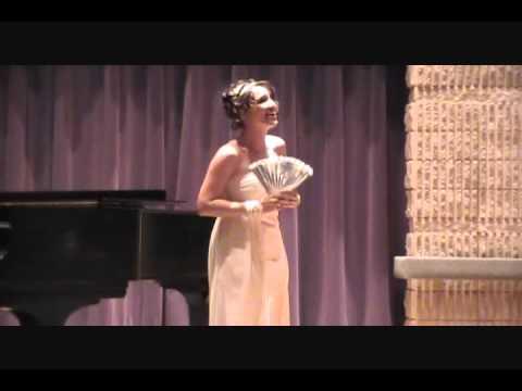 """""""Mein Herr Marquis"""" Senior vocal recital University of Toledo Spring 2011"""