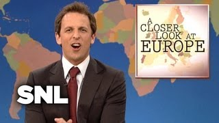 Weekend Update: A Closer Look at Europe - Saturday Night Live