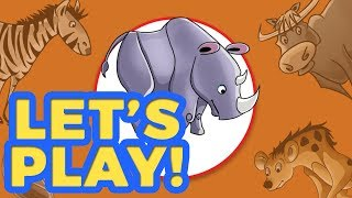 Guess What The Animal Is?  (Zaky Game For Kids)