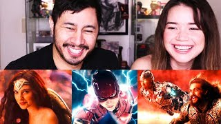 JUSTICE LEAGUE | Official Heroes Trailer | Reaction!