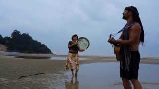 Scott Jeffers Traveler - Scott Jeffers & Saina - Morocco - performed at the Cherating beach, Malaysia