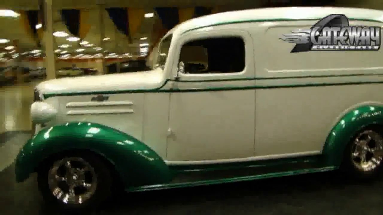 Old Truck For Sale >> 1937 Chevrolet Panel Truck for sale at Gateway Classic ...