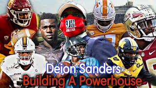 "Deion Sanders is ""BUILDING A POWERHOUSE"" 