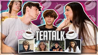 Addison Rae Comes On #TeaTalk Jaden Hossler & Mads Lewis Dating Rumours?!