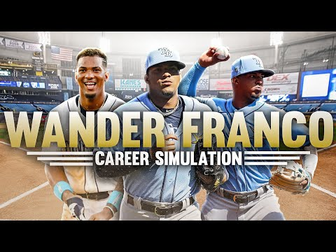 WANDER FRANCO'S MLB CAREER SIMULATION IN MLB THE SHOW 21   NEXT MLB SUPERSTAR??