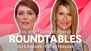 Reese Witherspoon, Amy Adams & more Actresses on THR's Roundtable l Oscars 2015