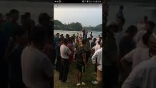 Cận cảnh 2 nữ sinh trường THPT Tháng 10 bị đuối nước - Tại Mỹ Bằng - Yên Sơn - Tuyên Quang