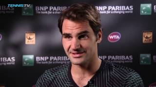 Federer Reflects On Nadal Win
