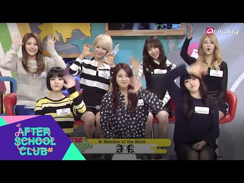 After School Club(Ep39) AOA(에이오에이) - Full Episode