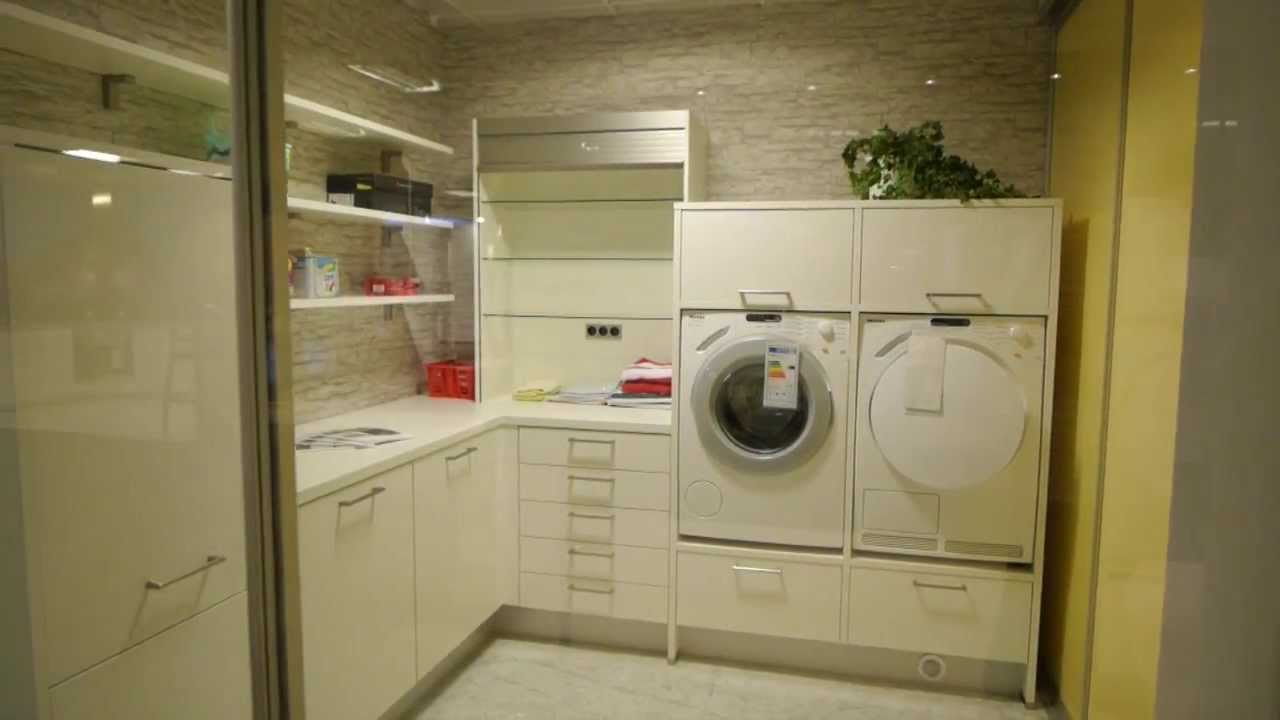 hauswirtschaftsraum ausstellung 2011 2013 youtube. Black Bedroom Furniture Sets. Home Design Ideas