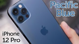 Pacific Blue iPhone 12 Pro Unboxing & First Impressions!
