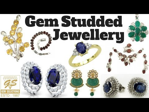 Gem Studded Jewellery - Gem Selections