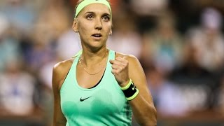 Elena Vesnina's Road To The Final