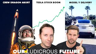 Tesla Stock Through the Roof, Model Y Delivery Rumors, SpaceX Crew Dragon Abort Test - Ep 68