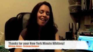 NY Minute #13: Whitney Adams, Costume Designer | Presented by MTI ShowSpace