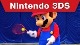 Mario Tennis Open - Mario Hits the Court