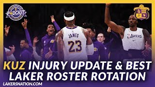 Lakers Nation Podcasts: Kuz Injury Update & What Should The Lakers Rotation Look Like?