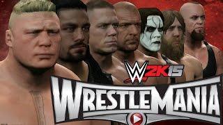 WWE 2K15 WrestleMania 31 Simulation