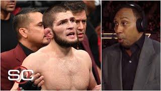 Stephen A. reacts to Khabib Nurmagomedov attacking Conor McGregor's team at UFC 229 | SportsCenter