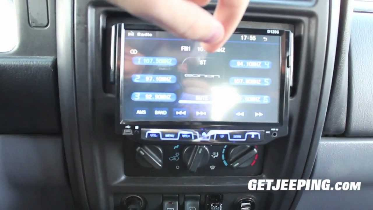 How To Installing Of 7 Quot Touch Screen 1 Din Stereo In 1997