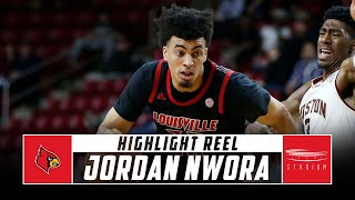 Jordan Nwora Louisville Basketball Highlights - 2018-19 Season | Stadium