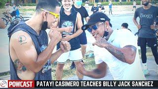CASIMERO Tinuruan si BILLY JACK SANCHEZ STRATEGY sa BOXING!