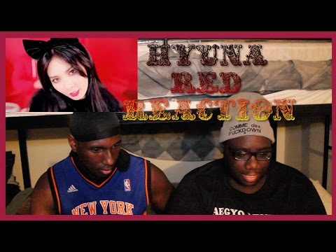Black People React to Kpop: HYUNA - '빨개요 (RED)' MV Reaction