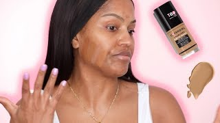 NEW Covergirl TruBlend Matte Made Foundation Review + Wear Test