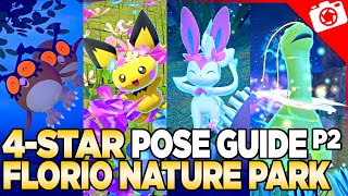 4-Star Pose Guide: Florio Nature Park | New Pokemon Snap