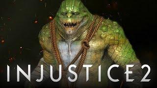 "Injustice 2: Killer Croc Character REVEALED & New Unused ""Gear Sets"" LEAKED? (Injustice 2)"