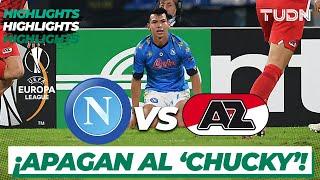Highlights | Napoli vs AZ Alkmaar | Europa League 2020/21 - J1 | TUDN