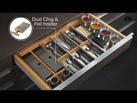 4 simple way to Customize Kitchen Drawer Divider